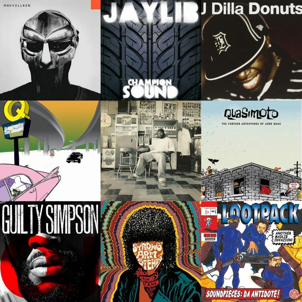 stones throw records albums