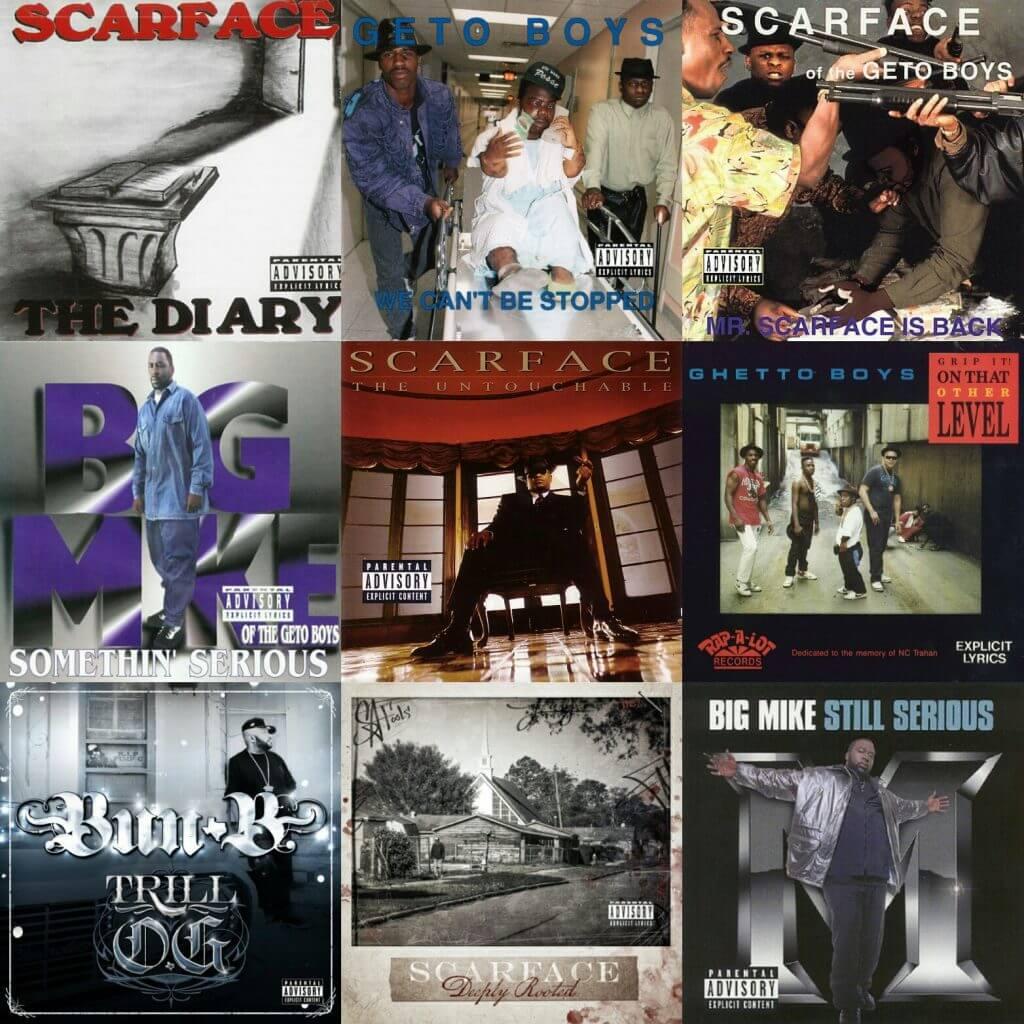 rap-a-lot records discography download