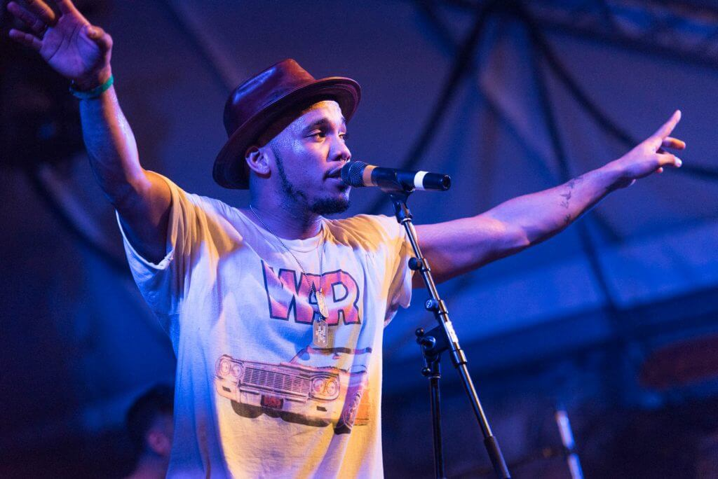 USE FIFTH ON FRONT Anderson .Paak & The Free Nationals, perform at NPR Music's SXSW Showcase at Stubb's on Wednesday, March 16, 2016 in Austin, Texas. Erika Rich for American-Statesman