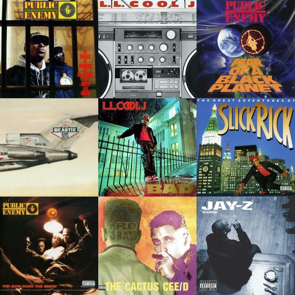 def jam records album covers