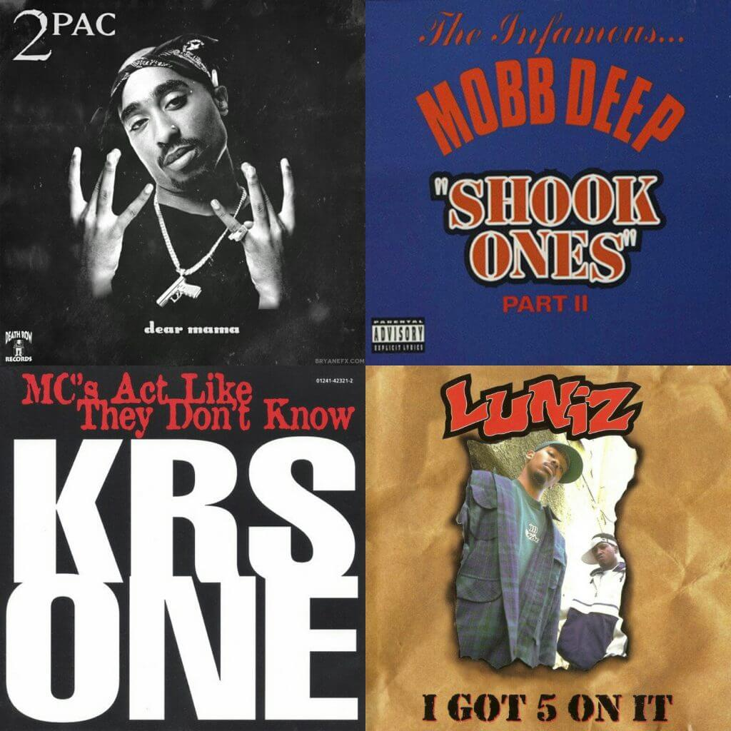 top hip hop songs 1995