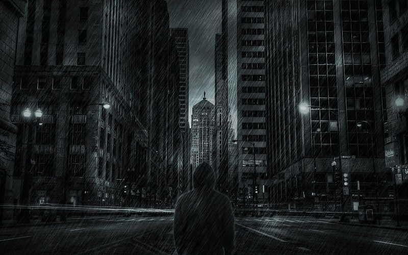 buildings-skyscrapers-hoodie-rain-storm-mood-dark-wallpaper-229912