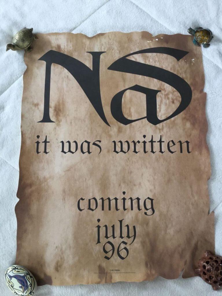 nas-it-was-written-original-1996-record-store-promo-poster-18x24-ultra-rare-840da03e33f907c7e8959e6a642beeb8