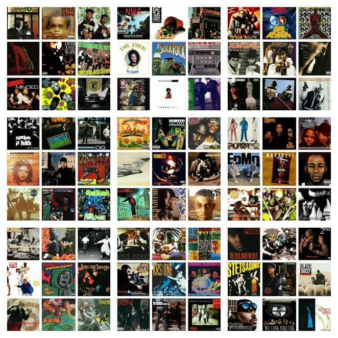 Top 300 Hip Hop Albums 1980 1999 Hip Hop Golden Age