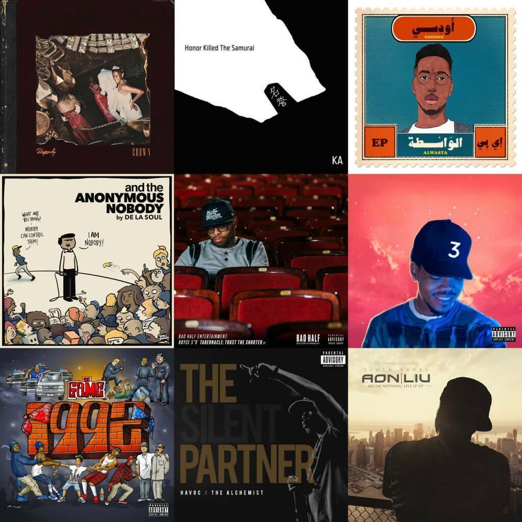The Best Hip Hop Albums Of 2016 - Hip Hop Golden Age Hip Hop