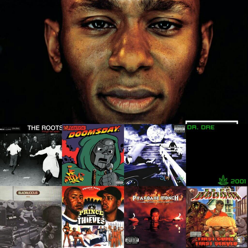 top 40 1999 hip hop albums