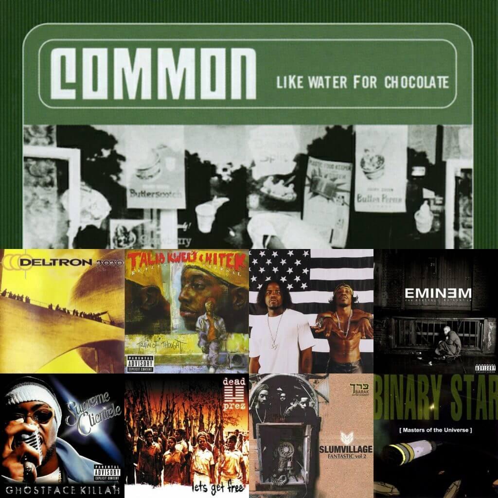 Top 40 Hip Hop Albums 2000 Hip Hop Golden Age