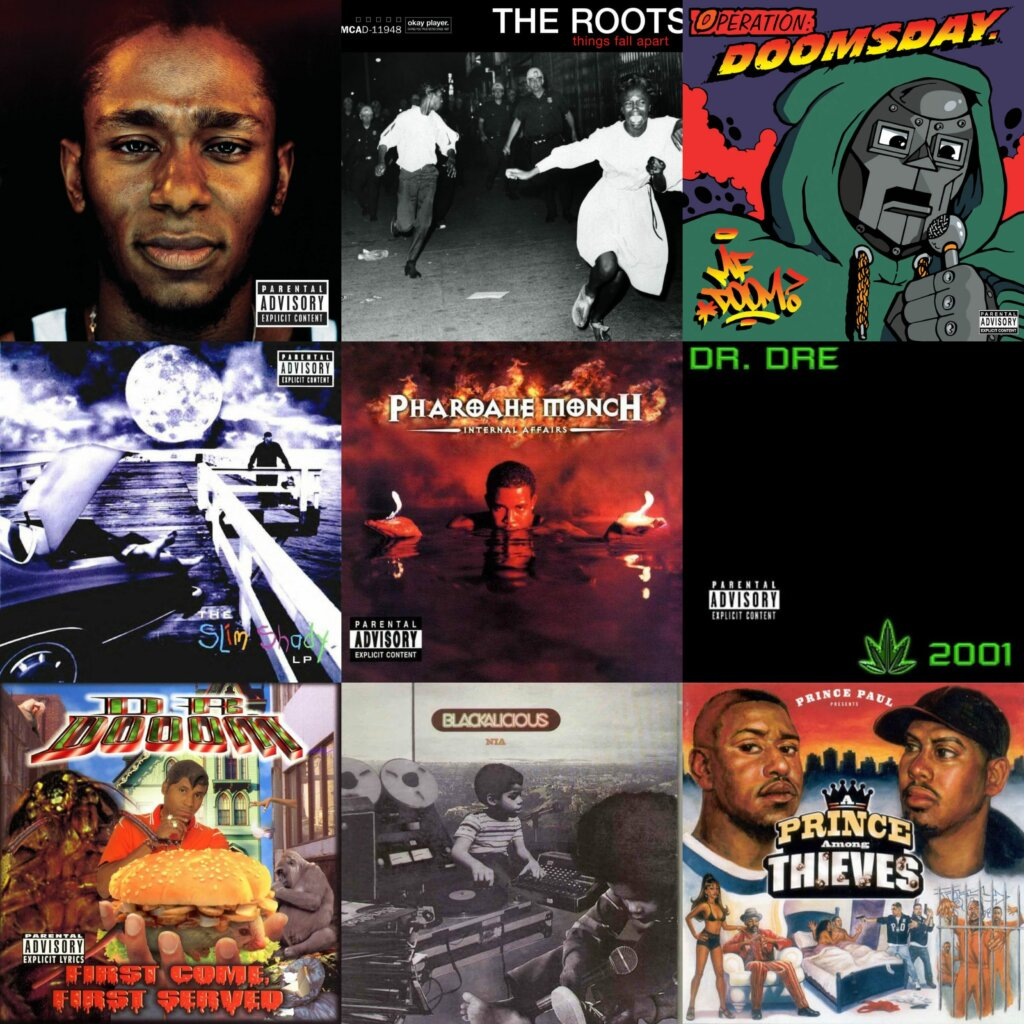 Top 40 Hip Hop Albums 1999
