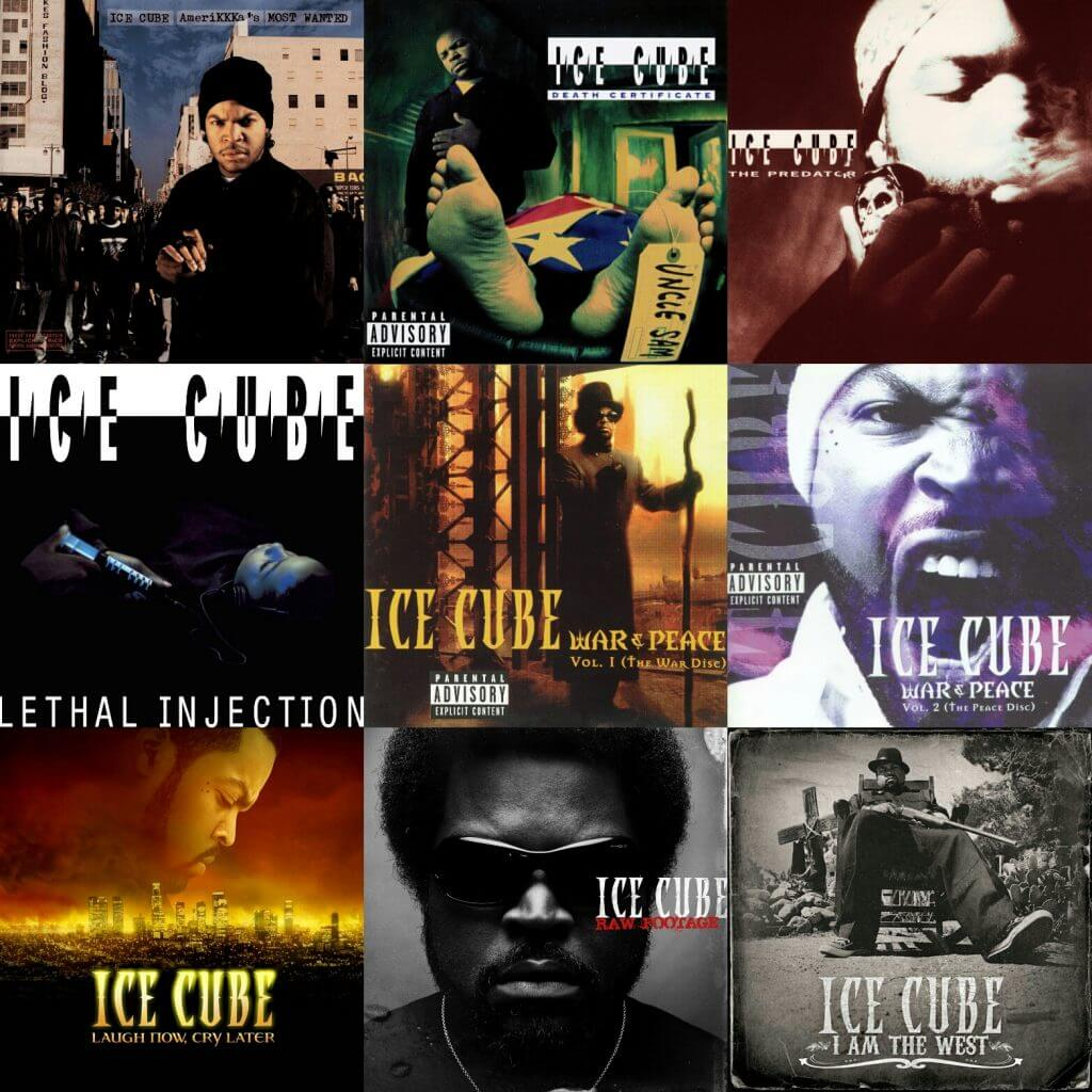 Ranking ice cubes albums hip hop golden age hip hop golden age best albums ice cube 1betcityfo Images