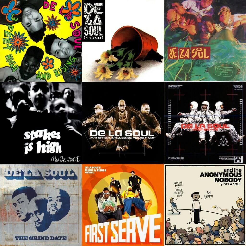 Ranking De La Soul's Albums
