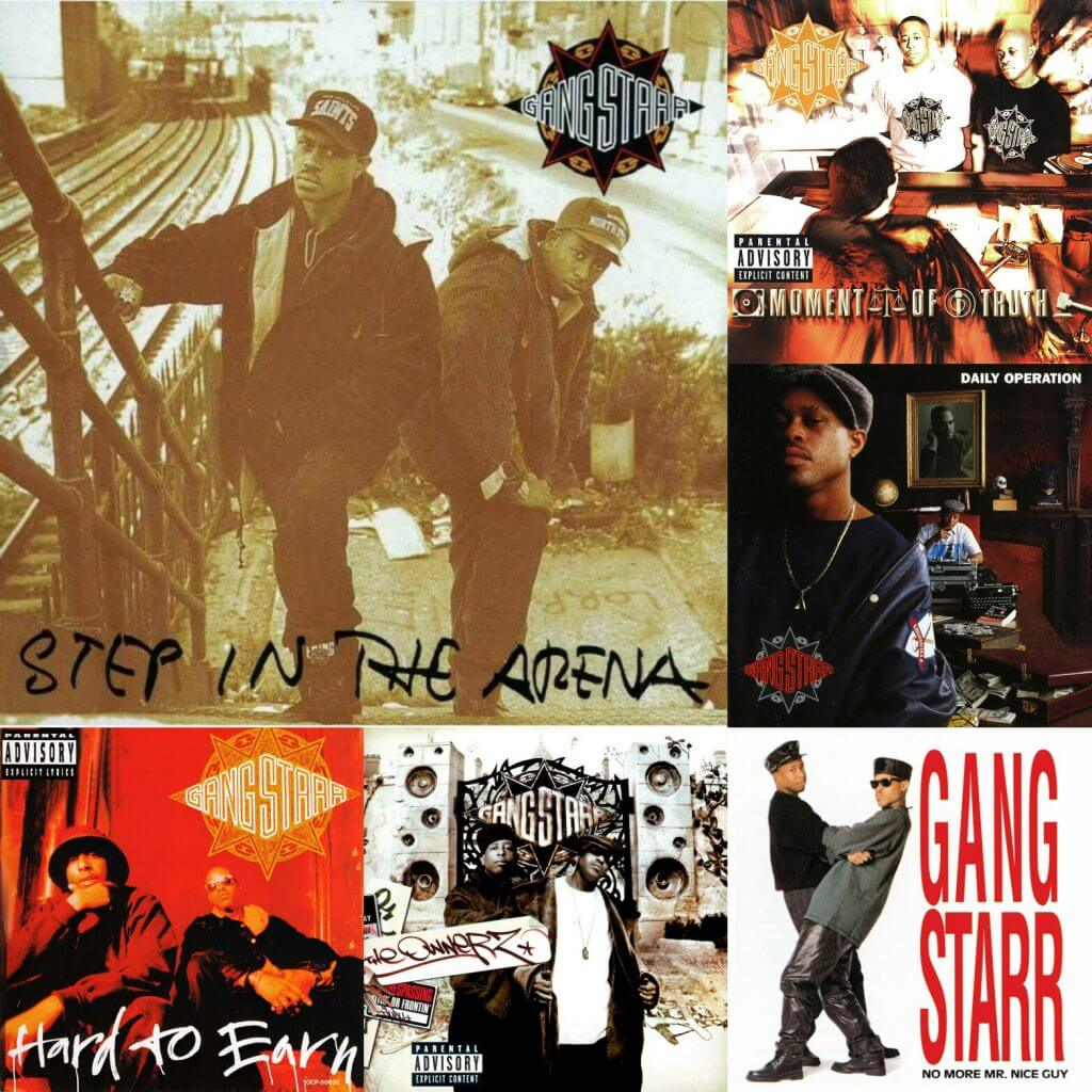 gang starr albums ranked