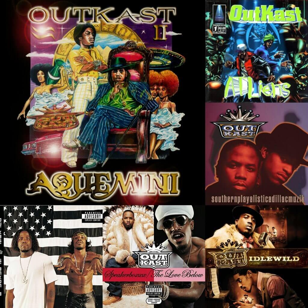 High School Ranking >> Ranking Outkast's Albums - Hip Hop Golden Age Hip Hop ...