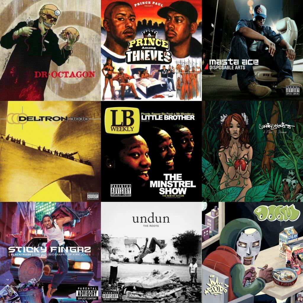 conceptual hip hop albums