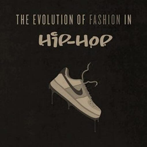 The Evolution Of Fashion In Hip Hop [Infographic]