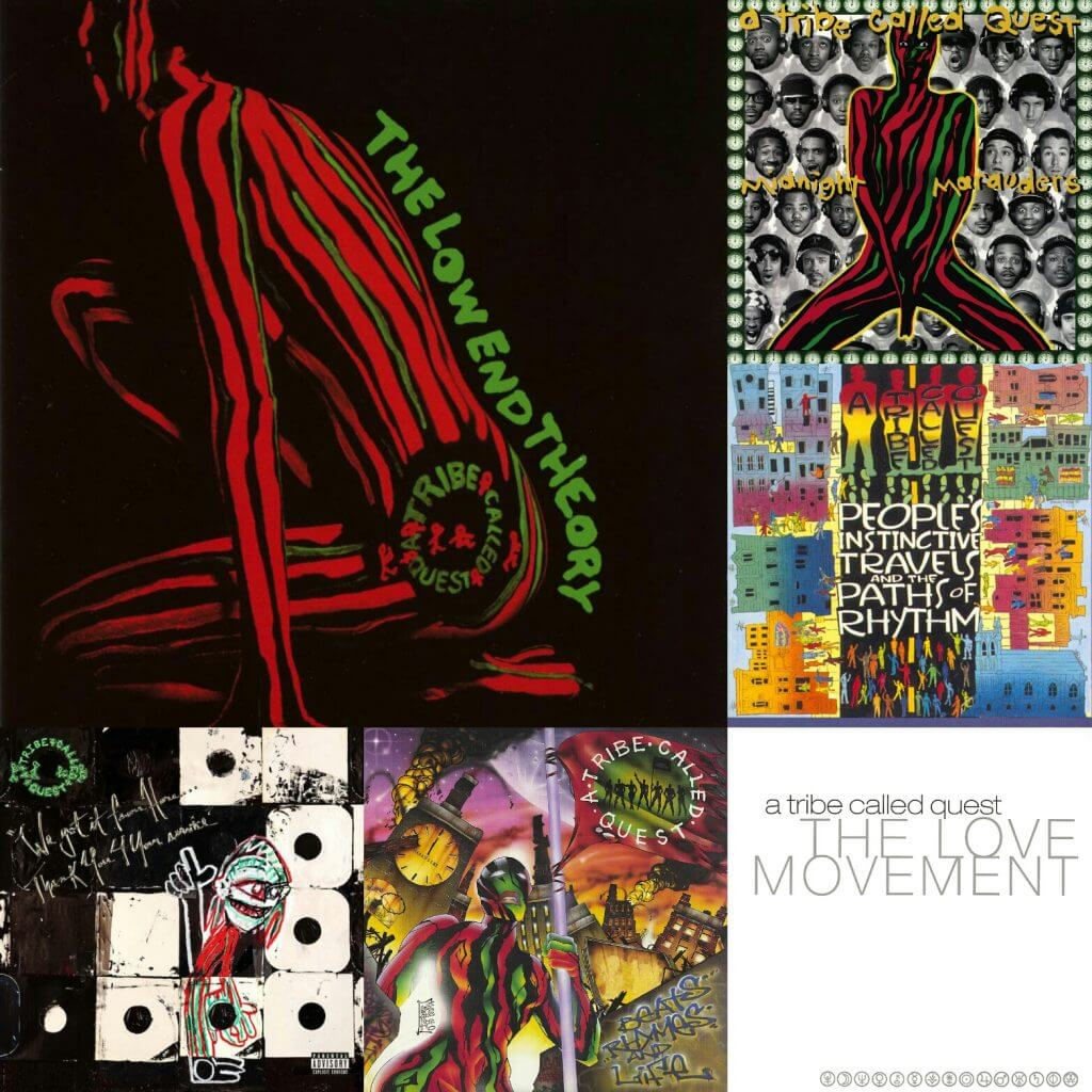 a tribe called quest albums ranked