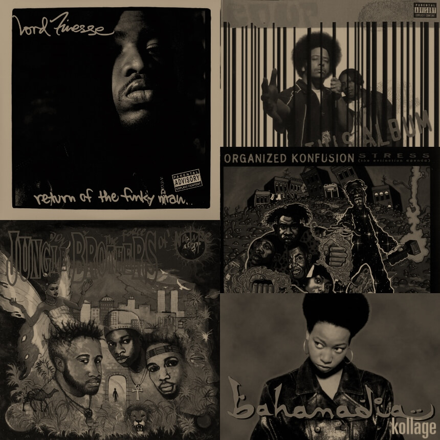 5 Classic Records You Don't Own, But Should (VI) - Hip Hop Golden Age