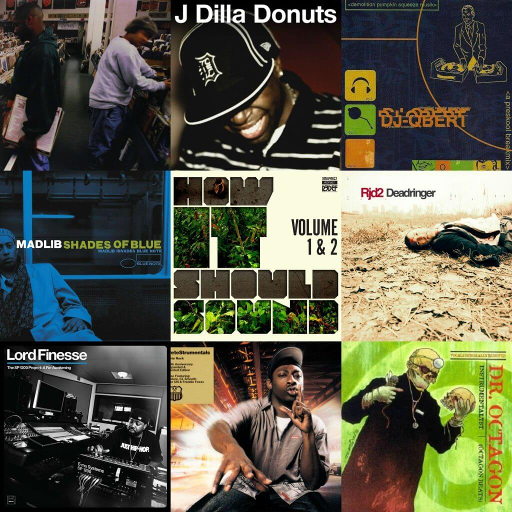 best hip hop instrumental albums