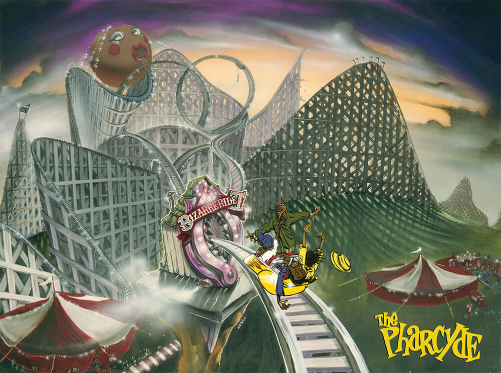 Classic Hip Hop The Pharcyde S Bizarre Ride Ii The