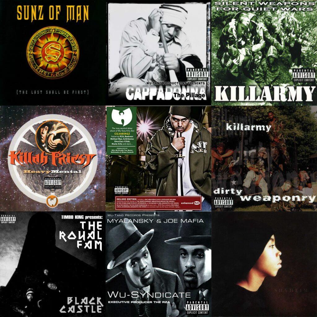 Best Wu-Affiliated Albums