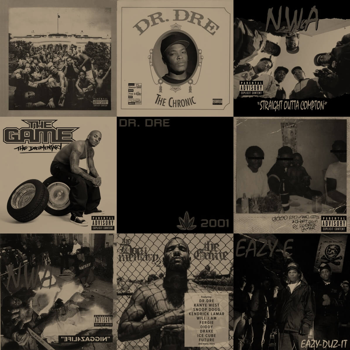 It's A Compton Thang: The Best Albums To Come From Compton