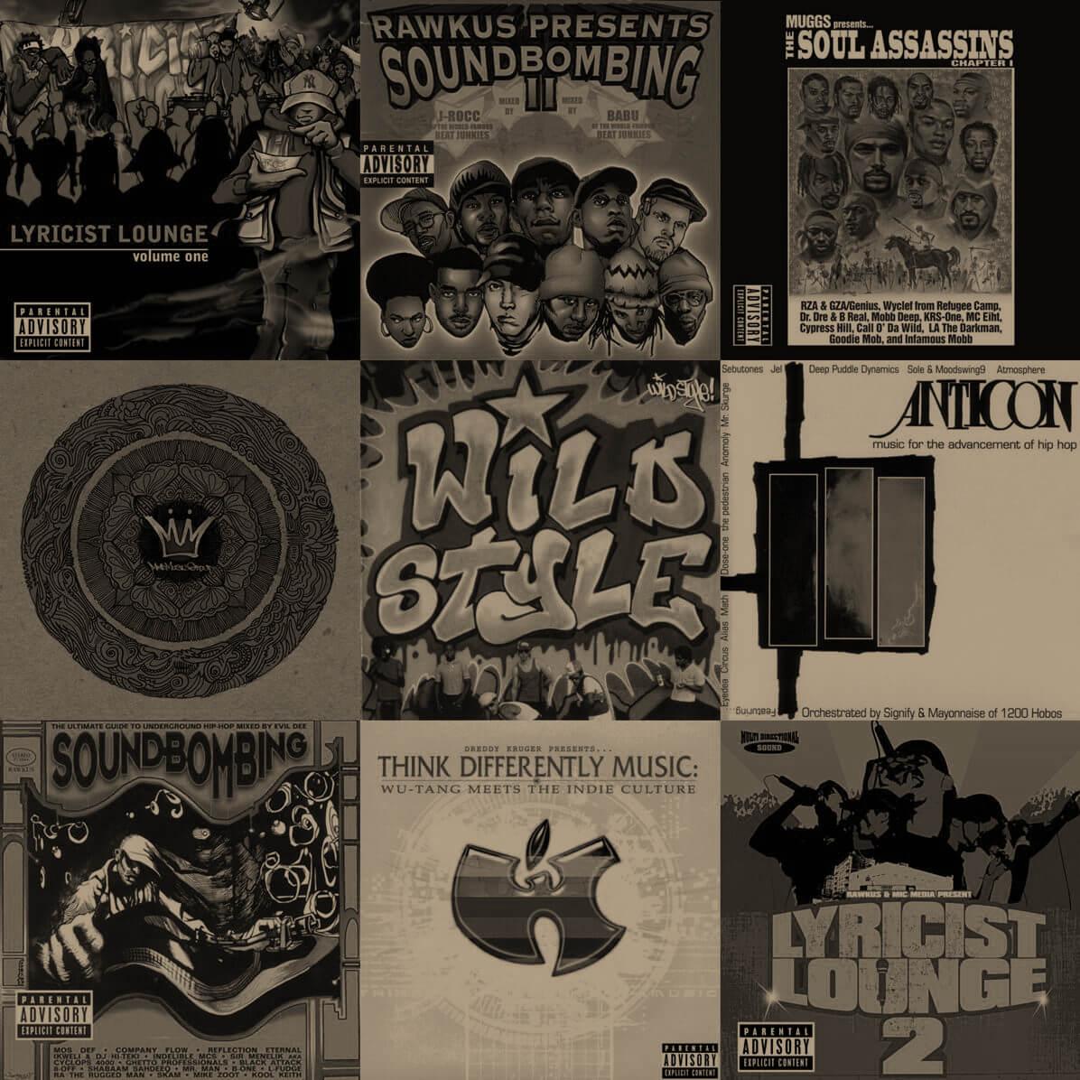 Top 15 Hip Hop Compilation Albums