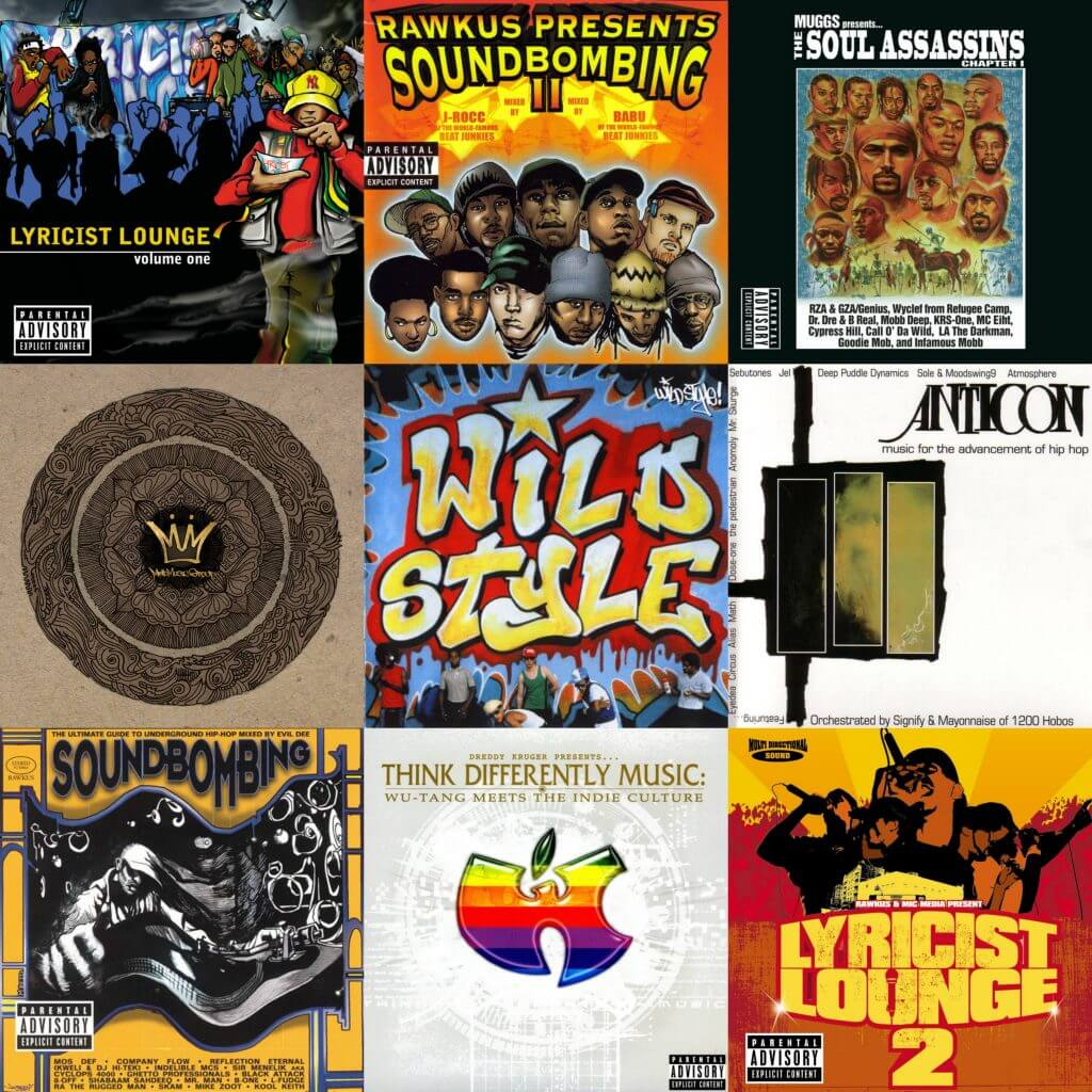 Top 15 Hip Hop Compilation Albums - Hip Hop Golden Age Hip