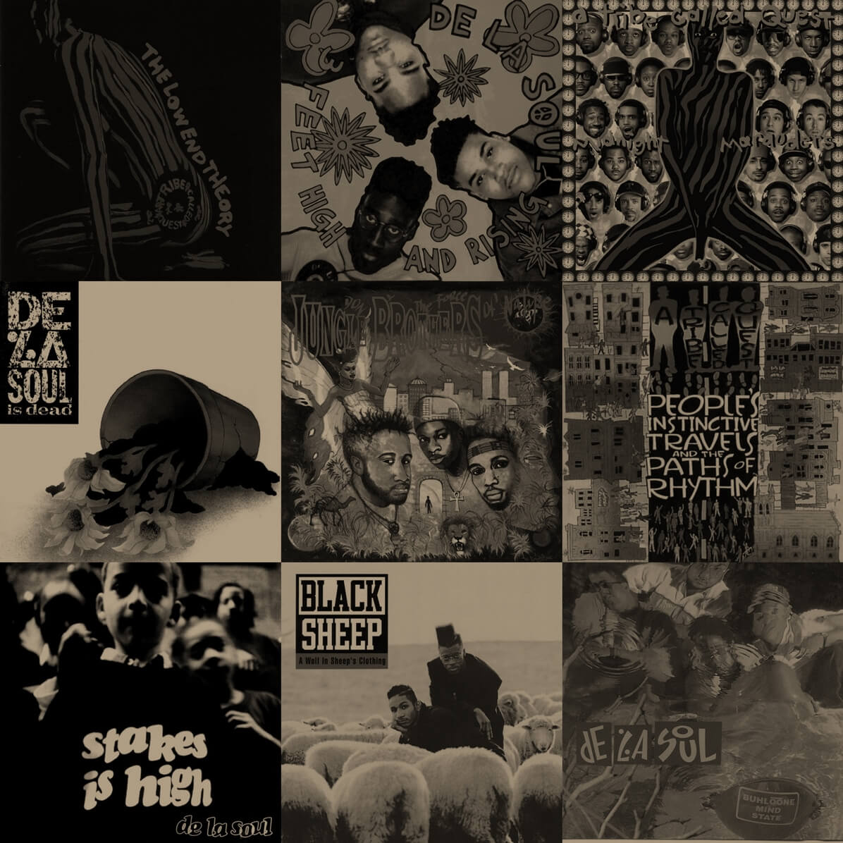 Top 15 Native Tongues Albums - Hip Hop Golden Age