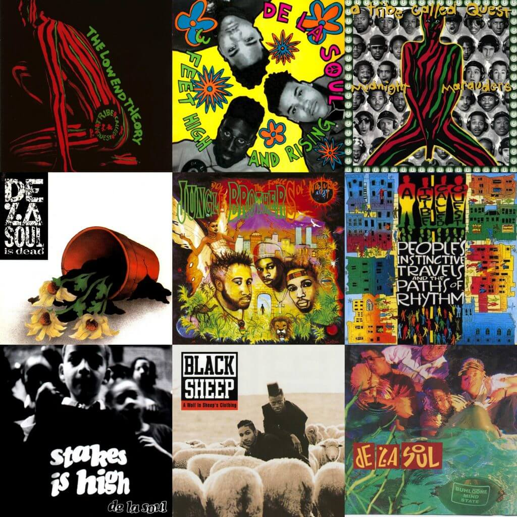 a tribe called quest de la soul jungle brothers native tongues
