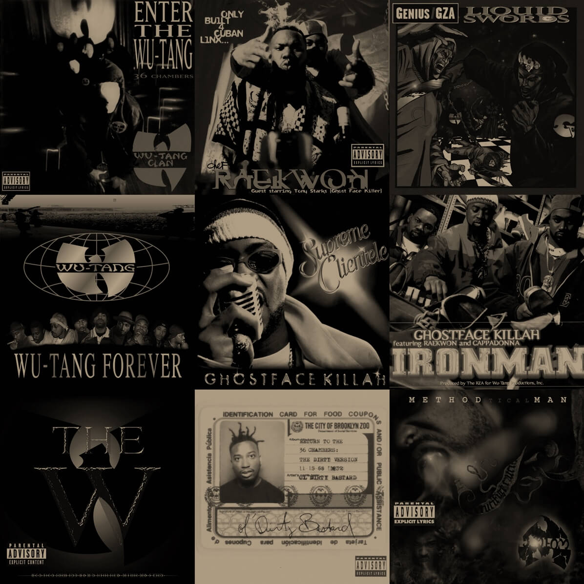 The Top 20 Wu-Tang Albums: The Best Projects That Came Out Of The 36 Chambers