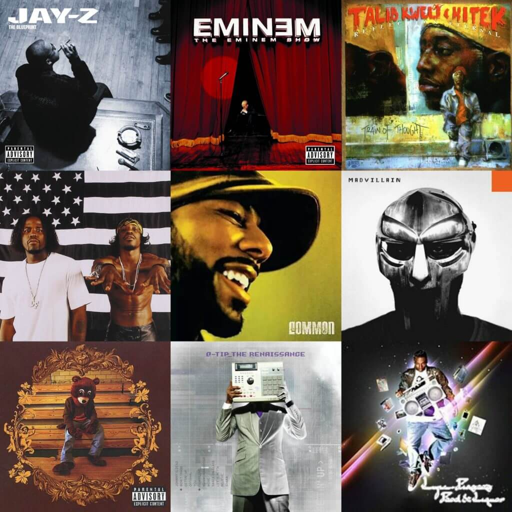 best hip hop albums 2000s