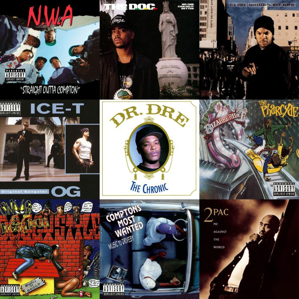 Best Selling Hip Hop Albums 2019 The 30 Greatest West Coast Rap Albums   Hip Hop Golden Age Hip Hop
