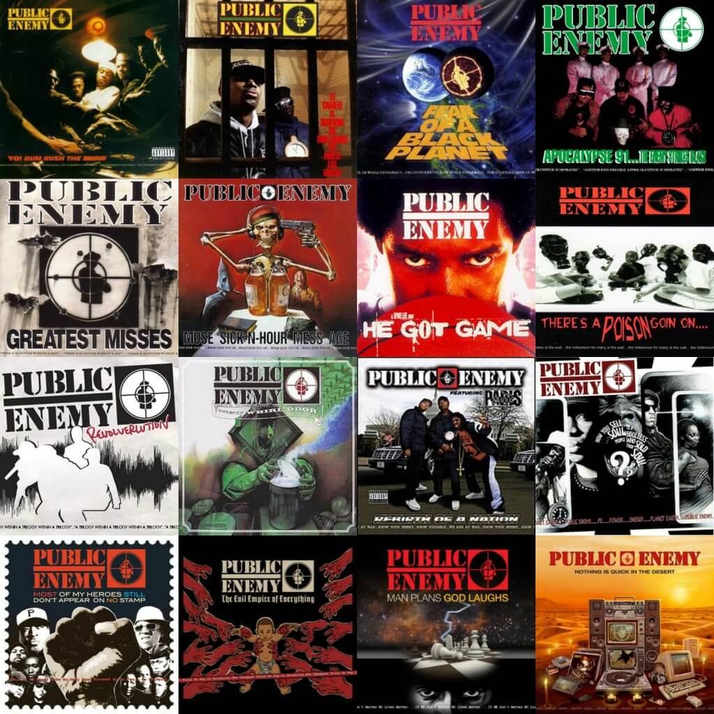 public enemy albums