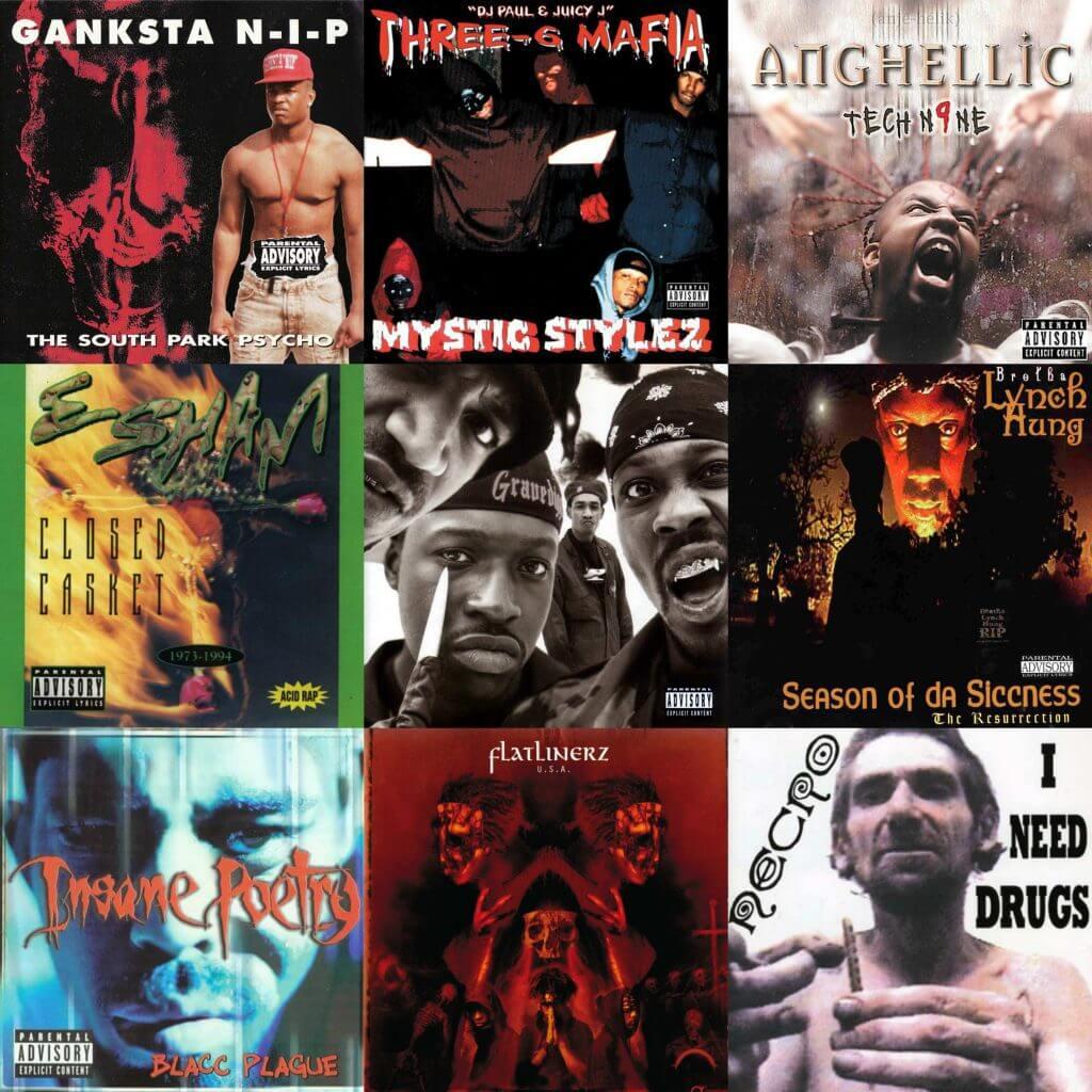 best horrorcore hiphop