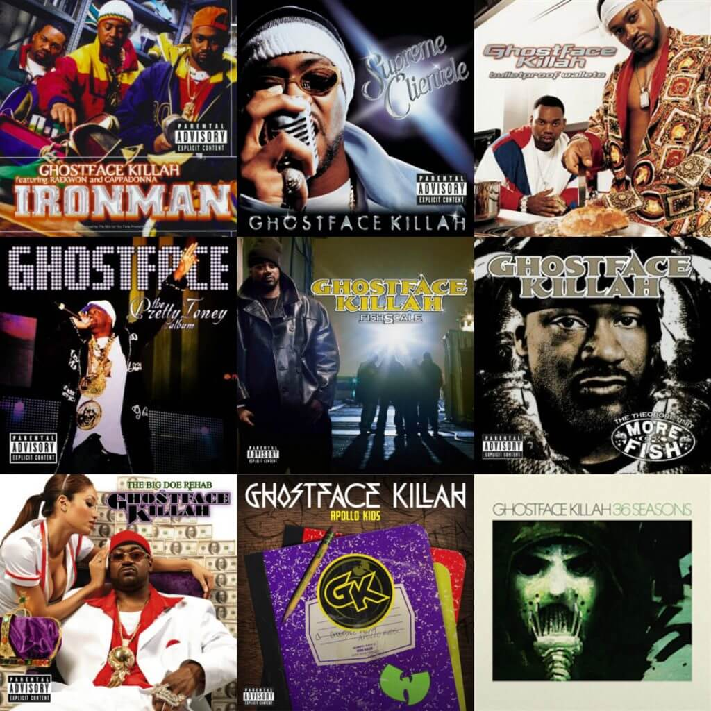 ghostface killah albums