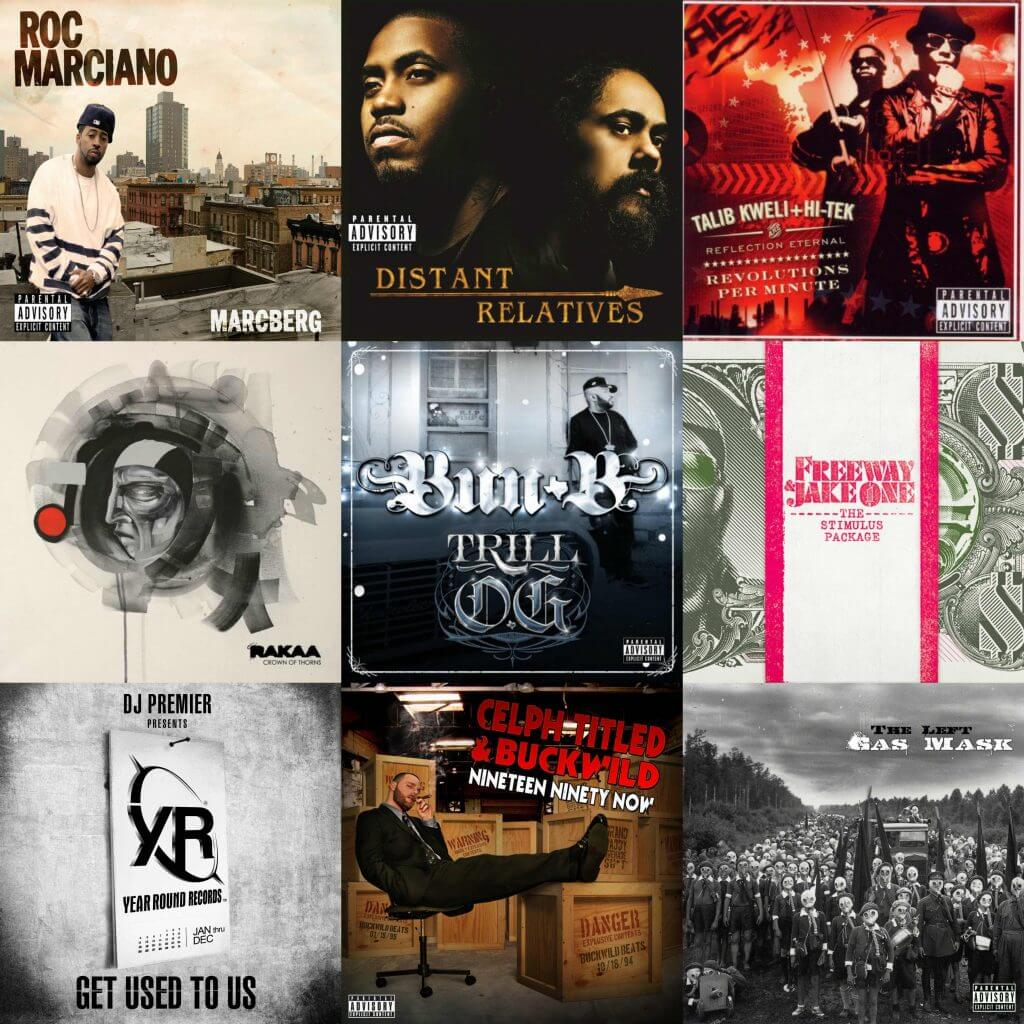 underrated hip hop albums 2010