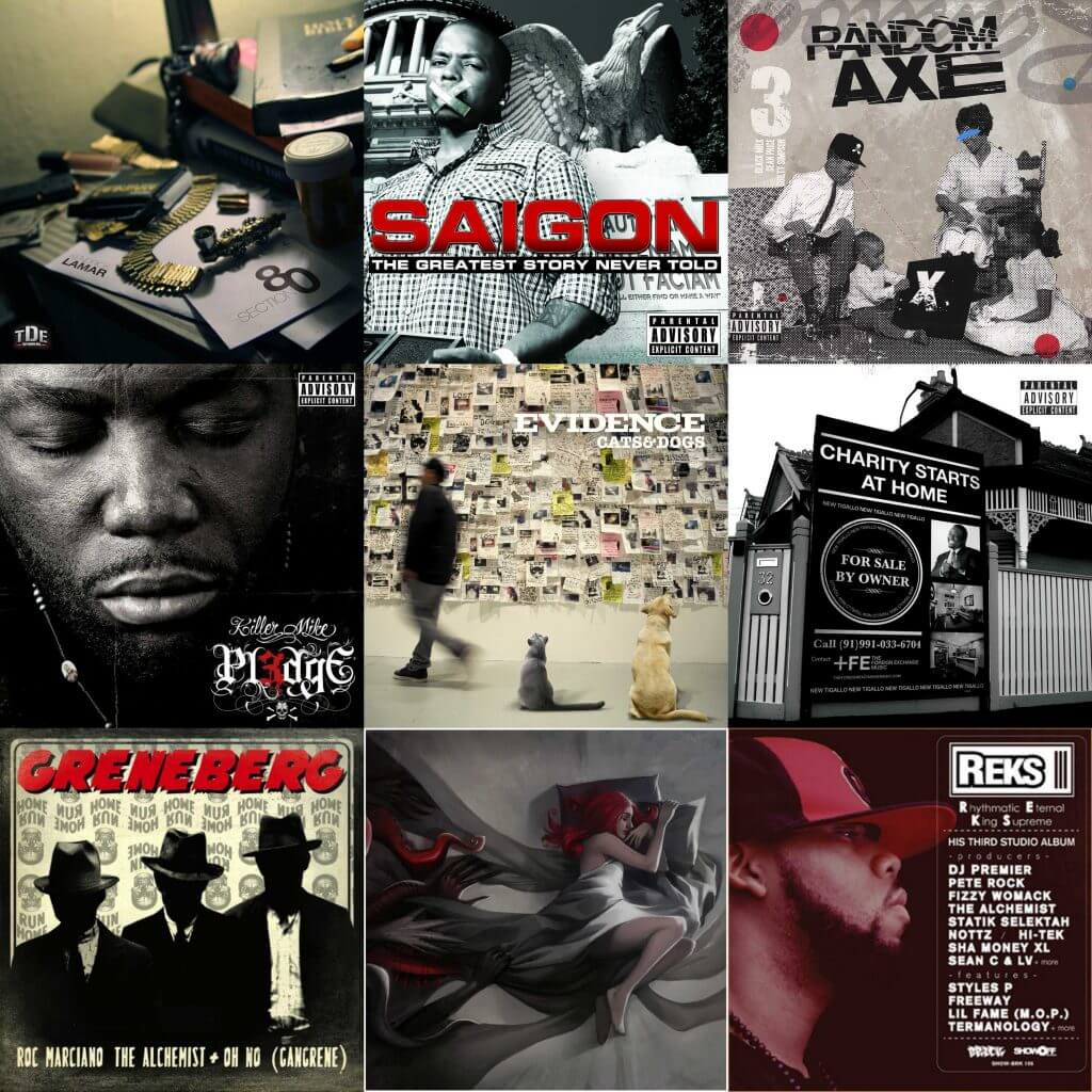 underrated hip hop albums 2011