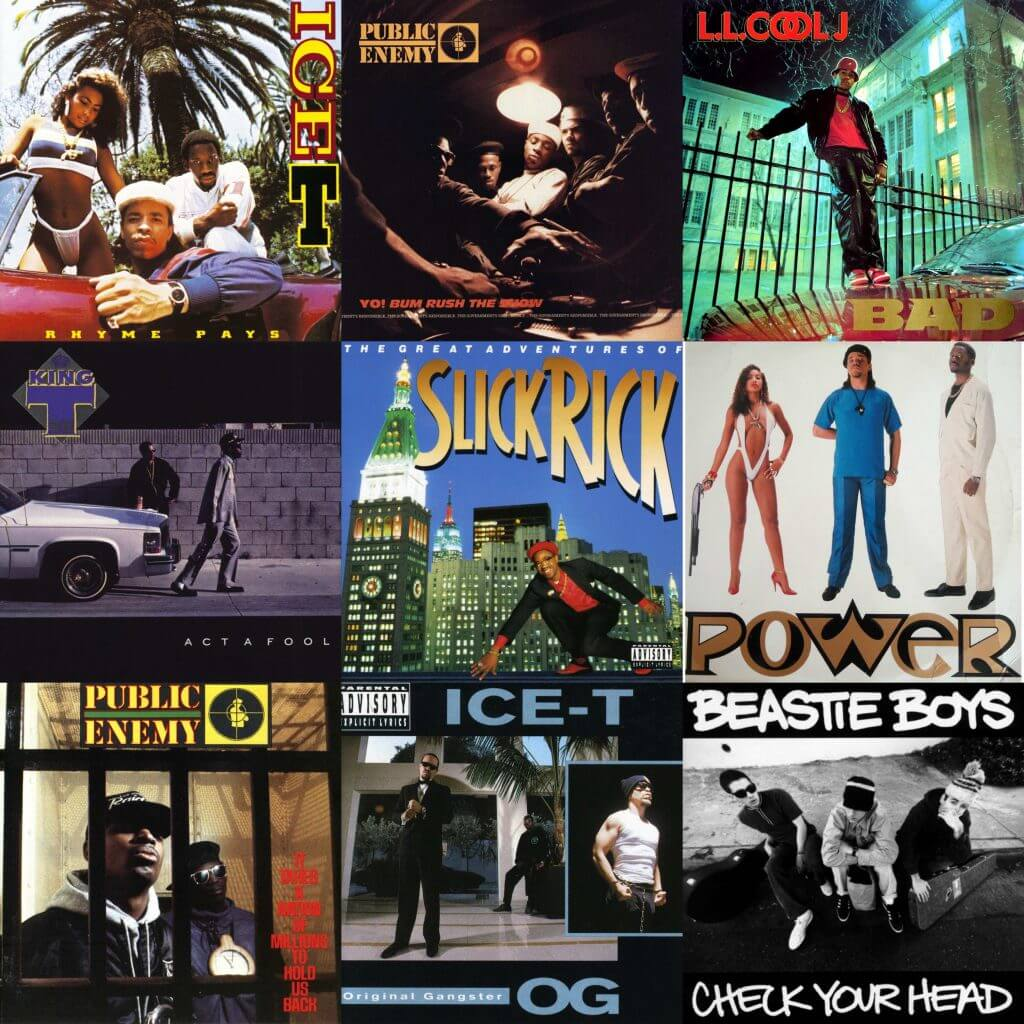 glen e friedman album cover photos hip hop