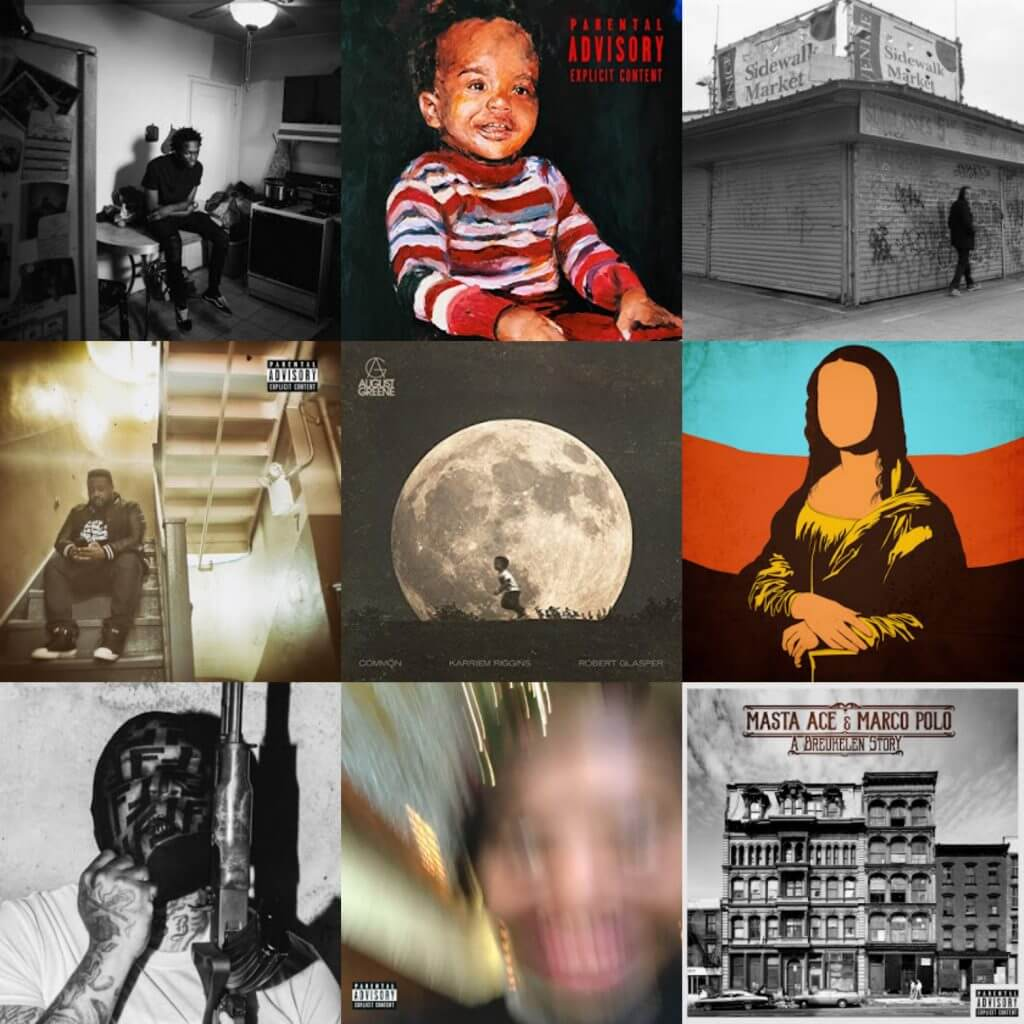 top 30 hip hop albums 2018