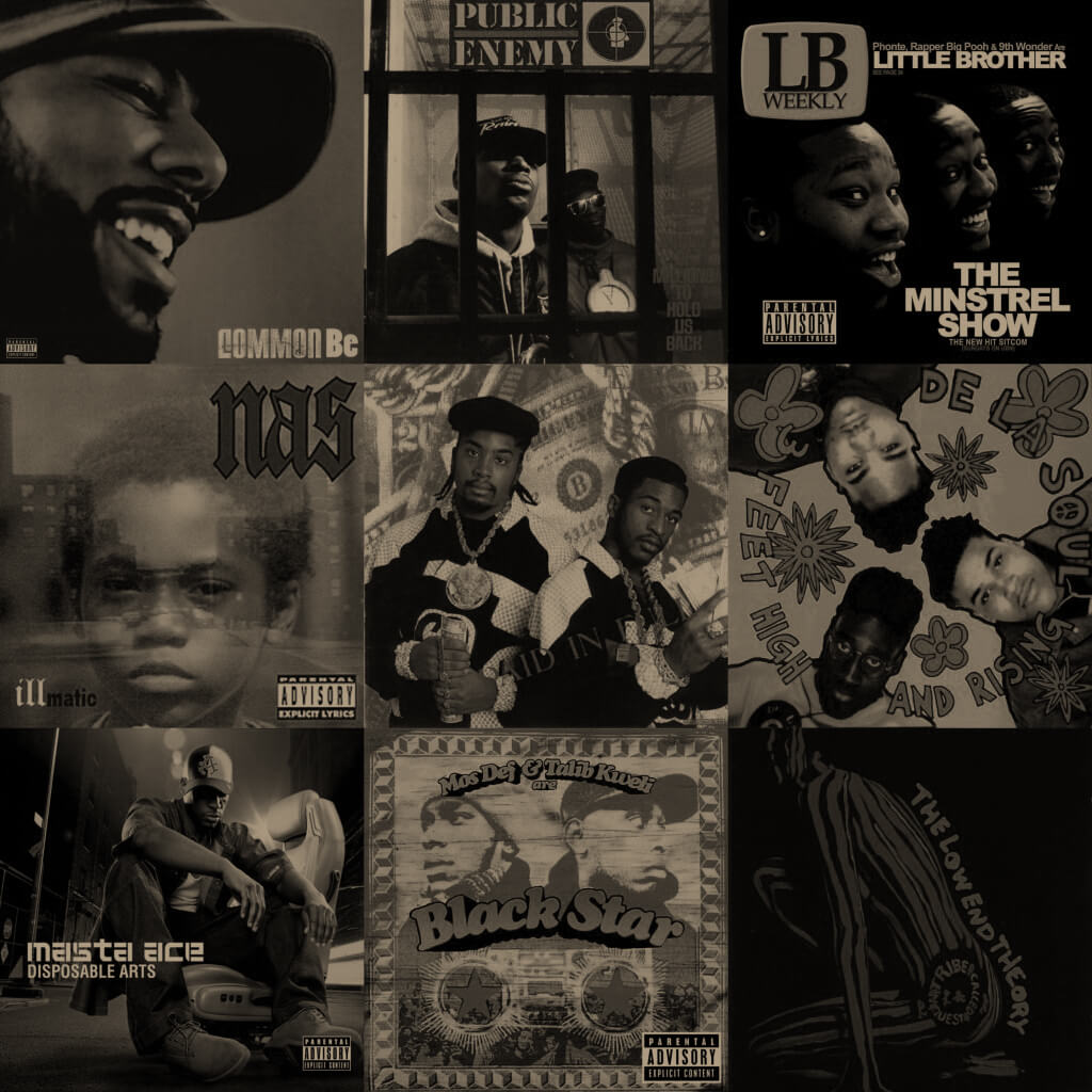 100 Essential Hip Hop Albums - Hip Hop Golden Age