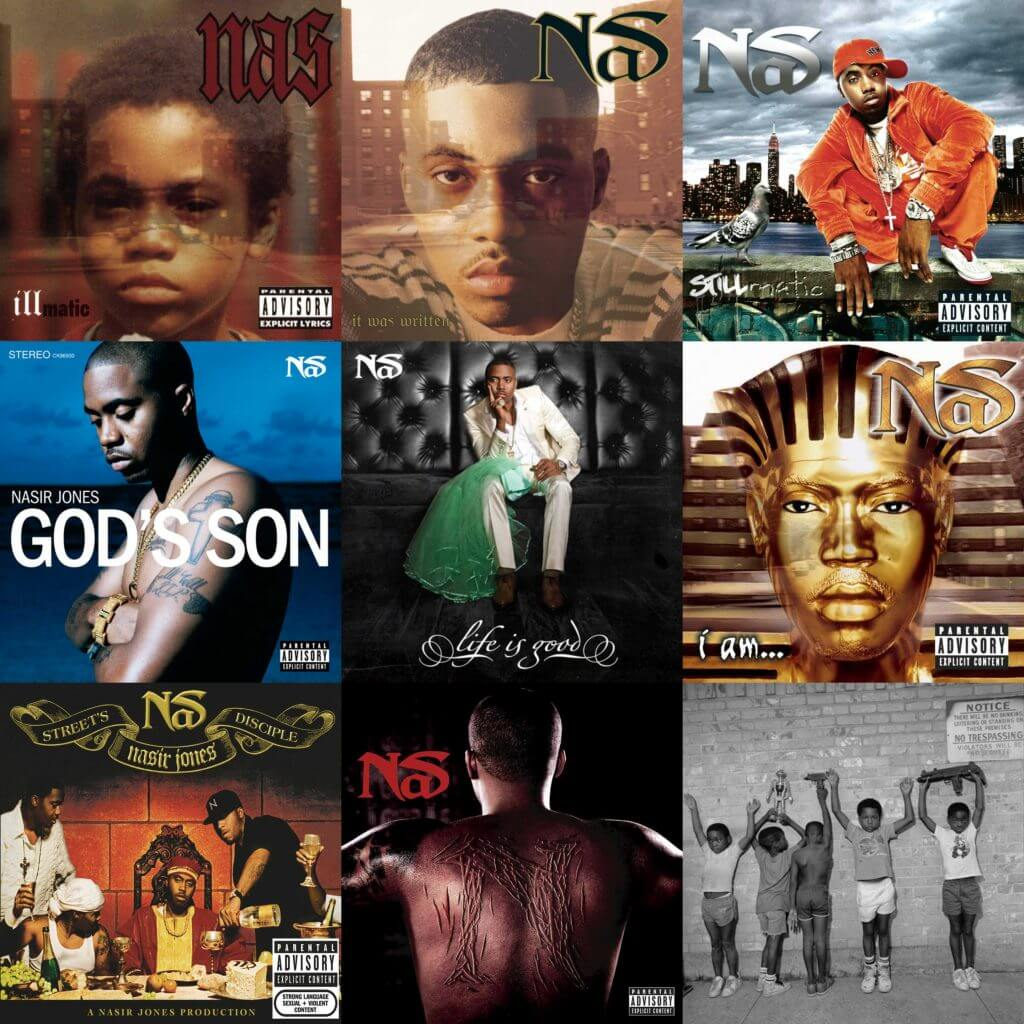 Ranking Nas' Albums - Hip Hop Golden Age Hip Hop Golden Age