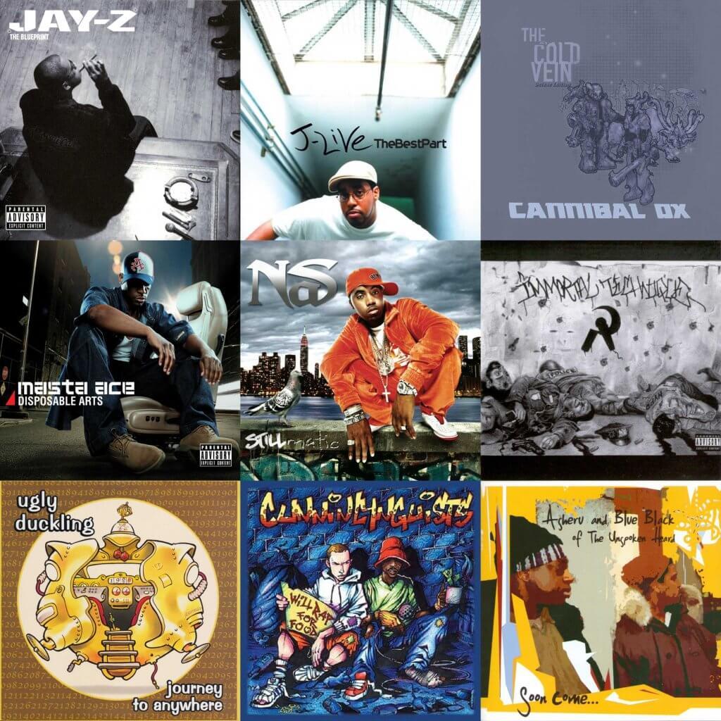 2001 hip hop albums