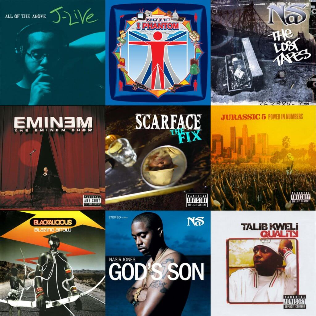 best hip hop albums 2002