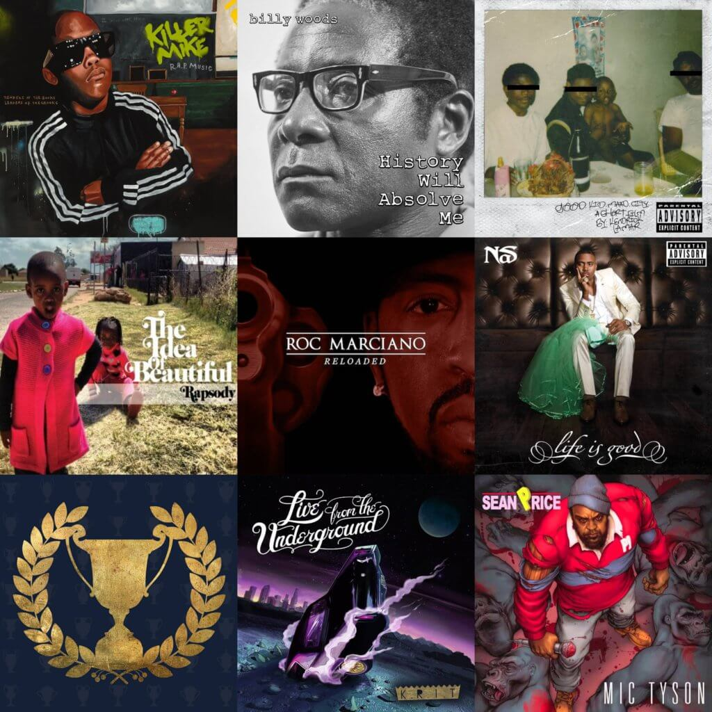 best hip hop 2012