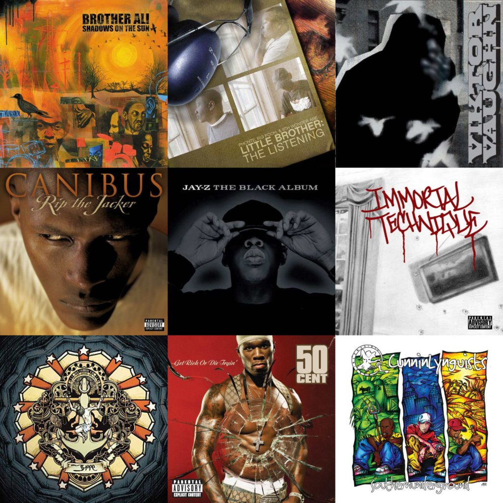2003 top 40 hip hop albums
