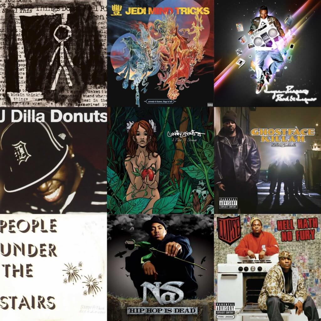 best hip hop albums 2006