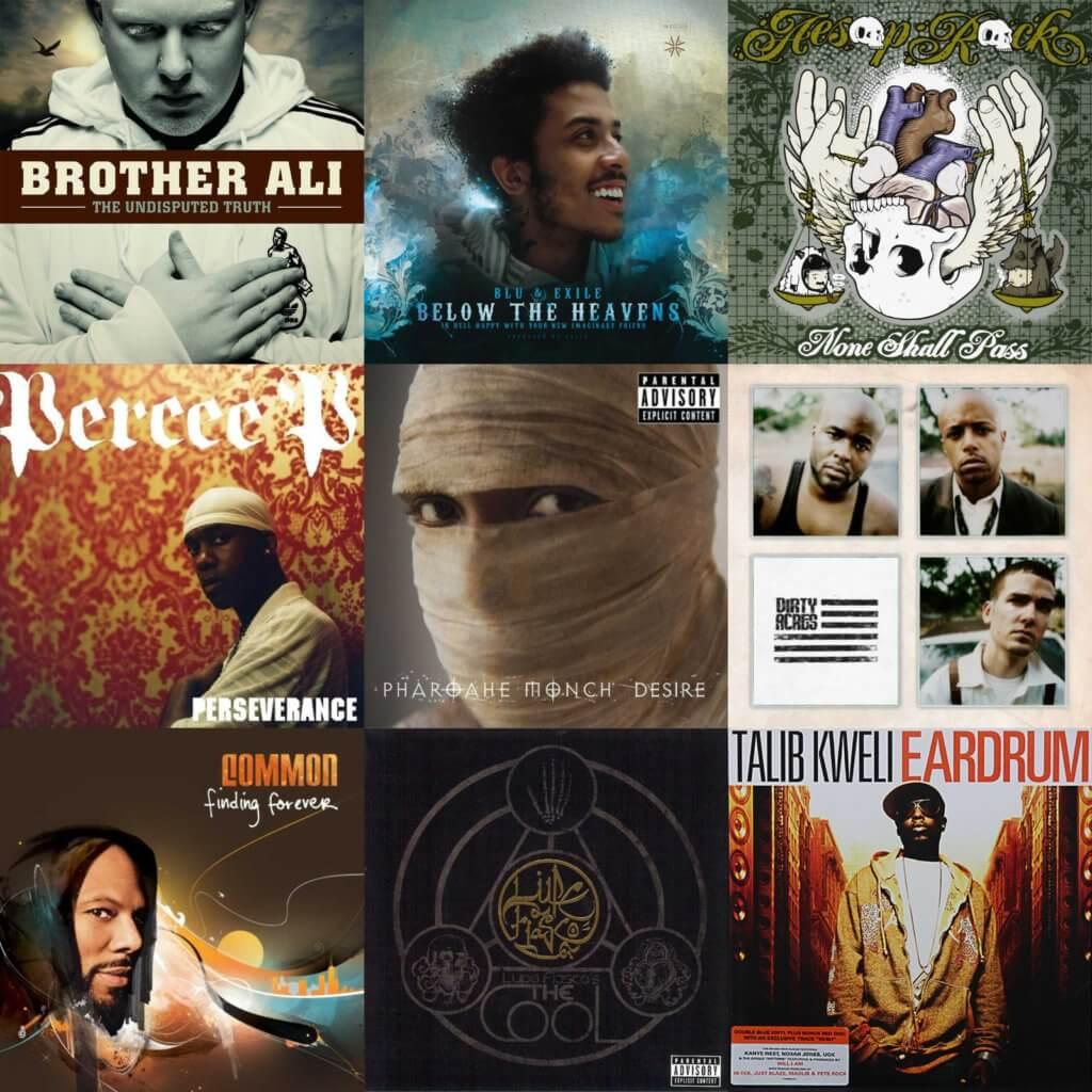 top 40 hip hop albums 2007