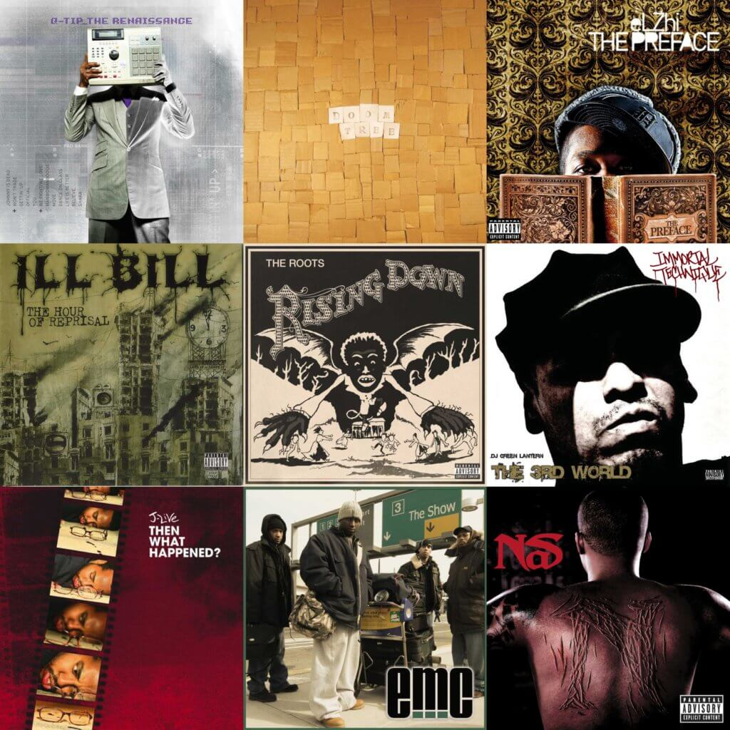 top 40 hip hop albums 2008