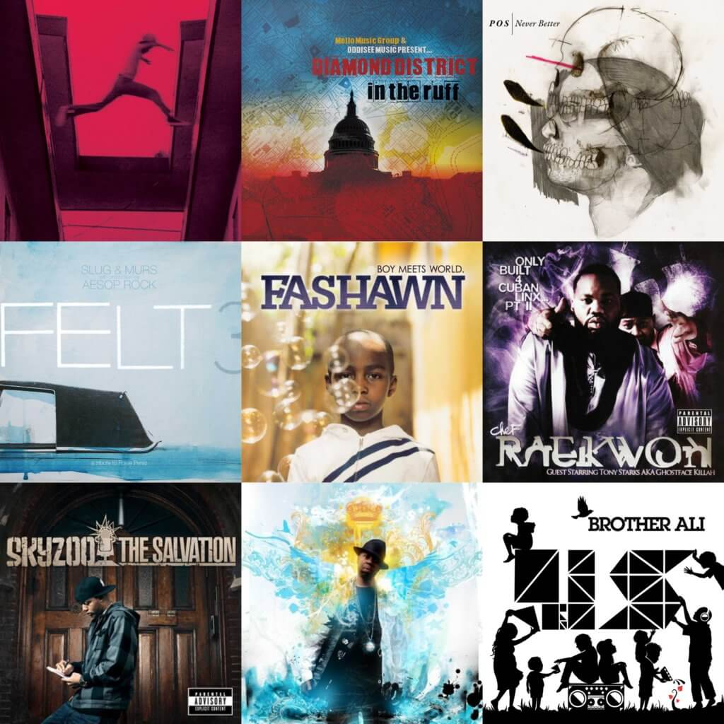 top 40 hip hop albums 2009