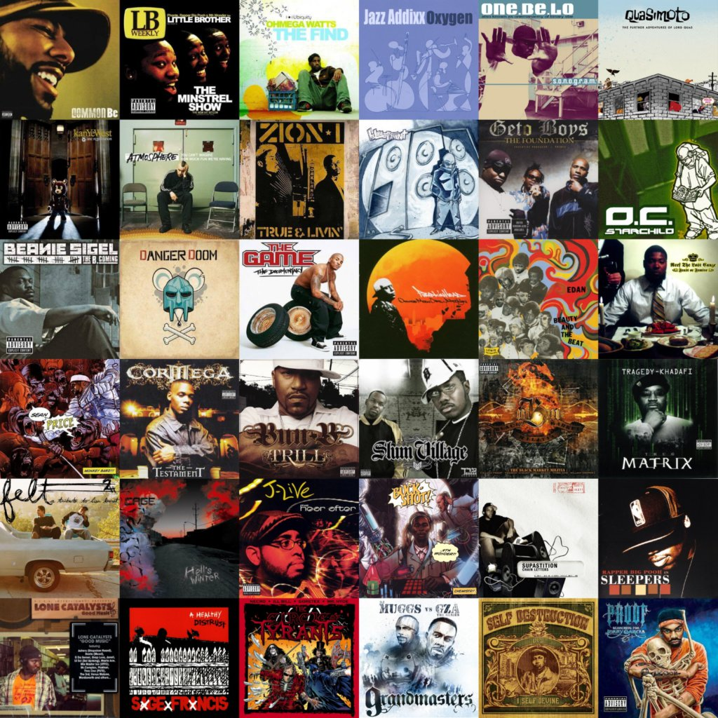 2005 best hip hop albums