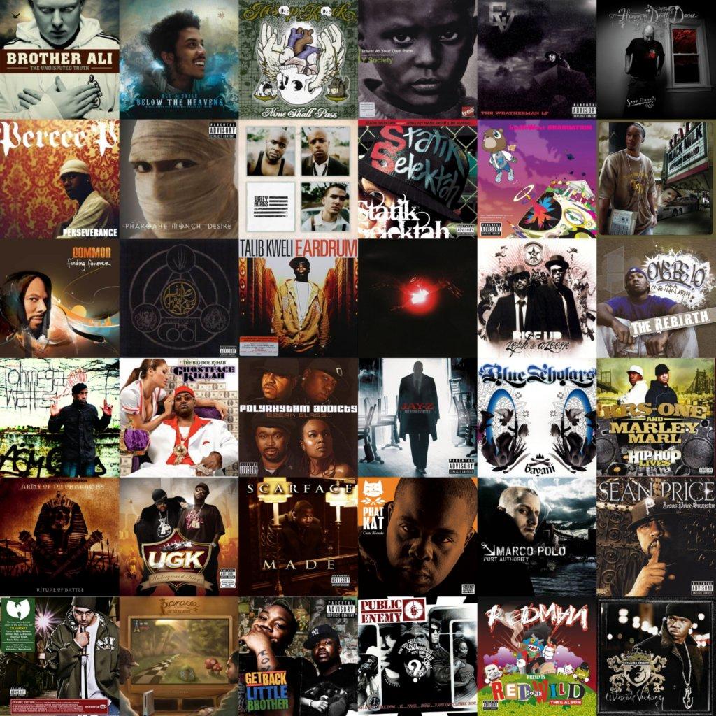 Best hip hop albums 2007